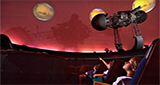 inside view of planetarium dome